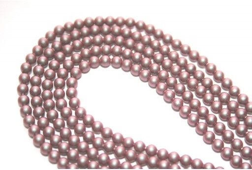 Swarovski Pearls 5810 Iridescent Red 3mm - 20pcs