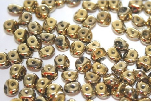 Es-O Beads Crystal Amber Full 5mm - 5gr