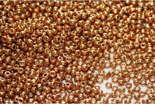 Miyuki Seed Beads Galvanized Medium Gold 11/0 - 10gr