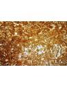 Toho Bugle Beads Silver Lined Med Topaz 3mm - 10gr
