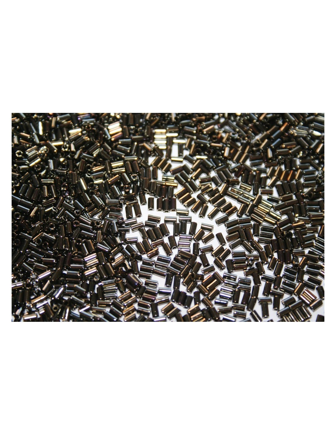 bugle beads jewelry ab tube black rainbow inch artbeads supplies matte miyuki