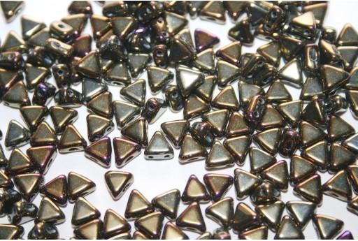Perline Khéops® Par Puca® Iris Brown 6mm - 10gr
