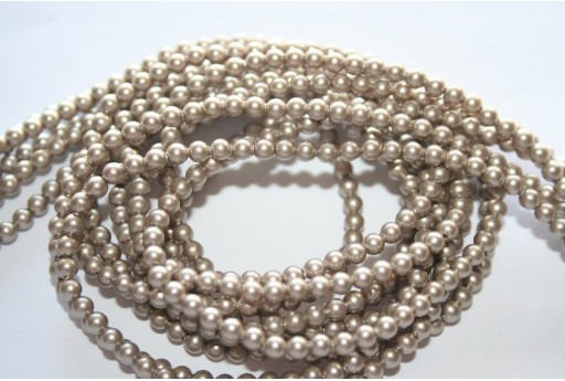Swarovski Pearls 5810 Platinum 3mm - 20pcs