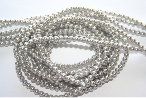 Swarovski Pearls 5810 Light Grey 3mm - 20pcs