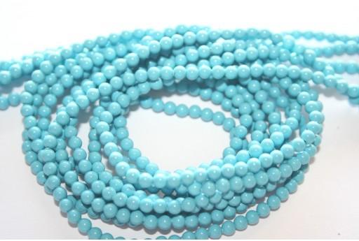 Swarovski Pearls 5810 Turquoise 3mm - 20pcs