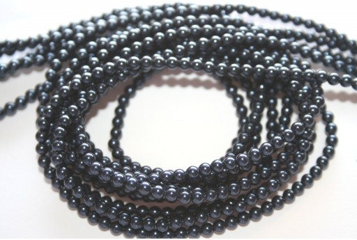 Swarovski Pearls 5810 Night Blue 3mm - 20pcs