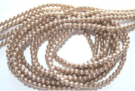 Swarovski Pearls 5810 Bronze 3mm - 20pcs