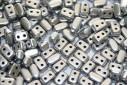 Ios® Par Puca® Silver Alluminium Mat 5,5x2,5mm - 5gr