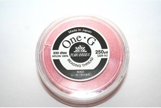 Filo Nylon Toho One-G Rosa 0,20mm - 229mt.