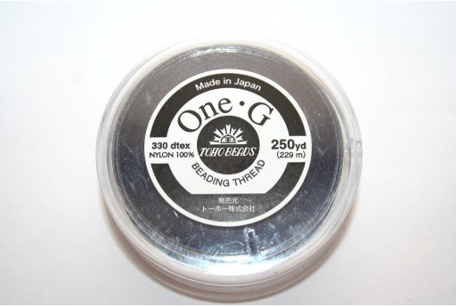 Toho One-G Nylon Thread 0,20mm Blue Navy 229m