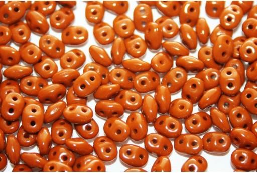 Perline Superduo Opaque Umber 5x2,5mm - 10gr