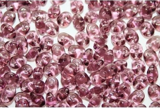 Perline Superduo Amethyst 5x2,5mm - 10g