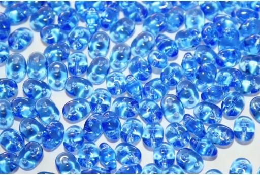Perline Superduo Sapphire 5x2,5mm - 10g