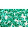 Perline Superduo Emerald 5x2,5mm - 10g