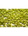 Perline Superduo Opaque Olivine 5x2,5mm - 10g