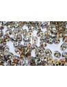 Perline Superduo Black Diamond AB 5x2,5mm - 10g