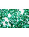 Perline Superduo Emerald AB 5x2,5mm - 10gr