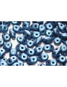 Perline Superduo Metallic Suede Blue 5x2,5mm - 10g
