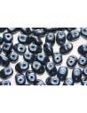 Perline Superduo Metallic Suede Dark Blue 5x2,5mm - 10g