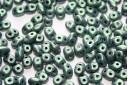 Perline Superduo Metallic Suede Light Green 5x2,5mm - 10gr