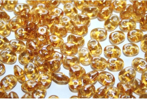 Superduo Beads Luster Topaz 5x2,5mm - 10gr