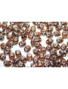 Perline Superduo Luster-Smoky Topaz 5x2,5mm - 10gr