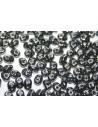 Perline Superduo Hematite 5x2,5mm - 10gr
