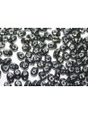 Superduo Beads Hematite 5x2,5mm - 10gr