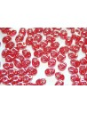 Superduo Beads Luster-Siam Ruby 5x2,5mm - 10gr