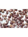 Perline Superduo Copper-Amethyst 5x2,5mm - 10gr
