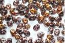 Superduo Beads Tanzanite Capri Gold 5x2,5mm - 10gr