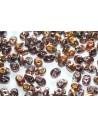 Perline Superduo Tanzanite Capri Gold 5x2,5mm - 10gr