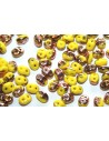 Perline Superduo Lemon Capri Gold 5x2,5mm - 10gr