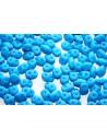 Perline Superduo Neon Turquoise 5x2,5mm - 10gr