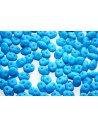Superduo Beads Neon Turquoise 5x2,5mm - 10gr