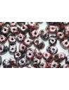 Superduo Beads Tweedy Red 5x2,5mm - 10gr