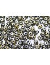Superduo Beads Tweedy Yellow 5x2,5mm - 10gr