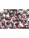 Superduo Beads Tweedy Pink 5x2,5mm - 10gr
