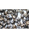 Superduo Beads Tweedy Gold 5x2,5mm - 10gr