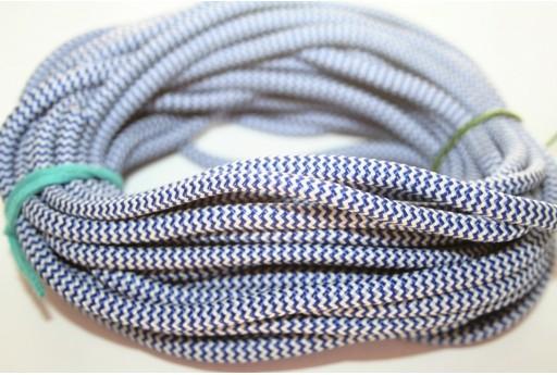 Climbing Cord Blue-White 5mm -1mt