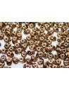 Perline Superduo Gold Bronze 5x2,5mm - 10gr