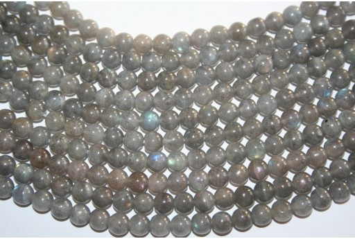 Labradorite Beads Sphere 6mm - 64pz
