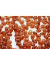 Superduo Beads Matte-Smoky Topaz 5x2,5mm - 10gr