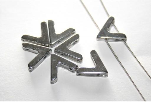 Ava® Beads Silver 10x4mm - 10pcs