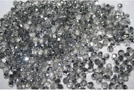 Mezzi Cristalli Silver 1/2 3mm - 1200pz