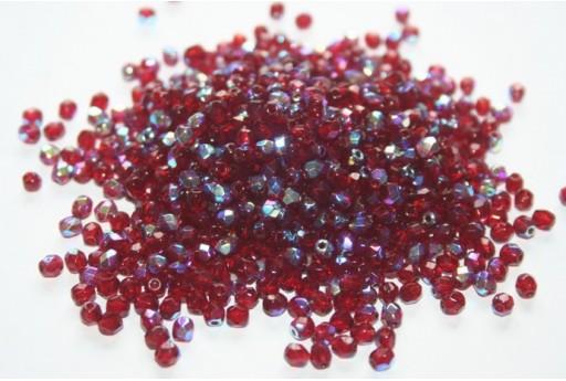 Mezzi Cristalli Garnet AB 4mm - 1200pz