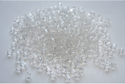 Fire Polished Beads Crystal 4mm - 1200pcs