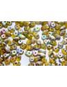 Perline Superduo Matte Vitrail-Jonquile 5x2,5mm - 10gr