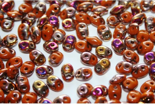 Superduo Beads Umber-Artemis 5x2,5mm - 10gr