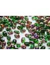 Perline Superduo Chrysolite Sliperit 5x2,5mm - 10gr